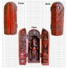 Red color Ganesh vertical box