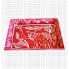 Mithila art - wild elephant small tray