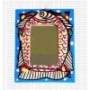 Mithila painting - fish tiny mirror