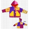 Multi-color patch kids jacket