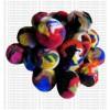 4-5 cm mixed color raw felt balls (packet of 100 balls)