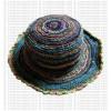Hemp + cotton wire round hat5