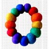 Felt bracelet 1