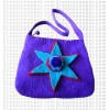 Star patch felt bag
