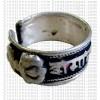 Vajra carved finger ring