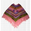 Double ply poncho 1