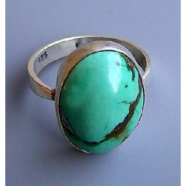 Turquoise stone finger ring 4