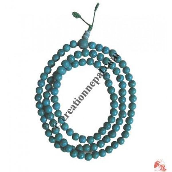 Turquoise beads mala