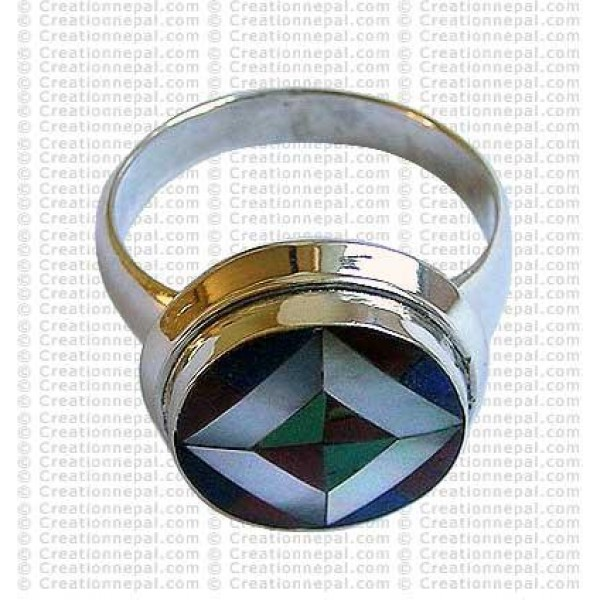 Tibetan design finger ring