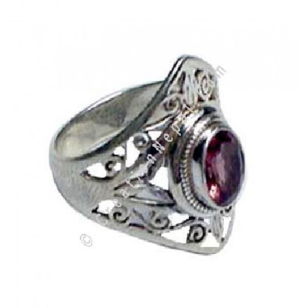 Filigree Finger Ring