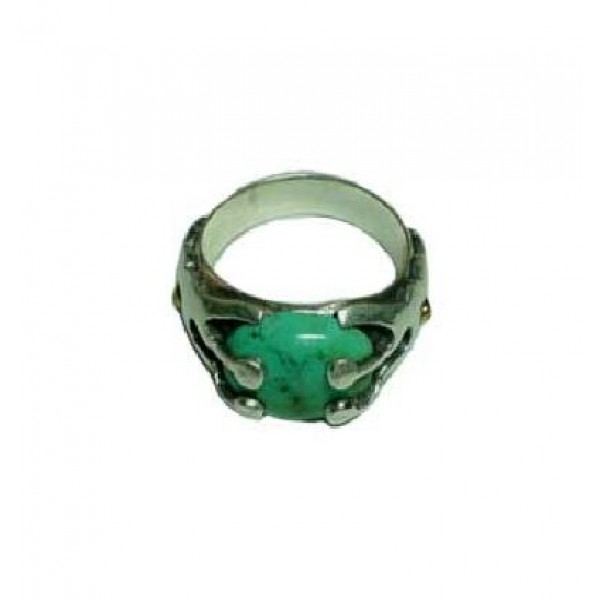 Turquoise stone finger ring 8