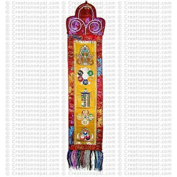 Auspicious signs wall hanging