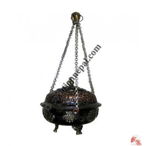 Dust incense burner