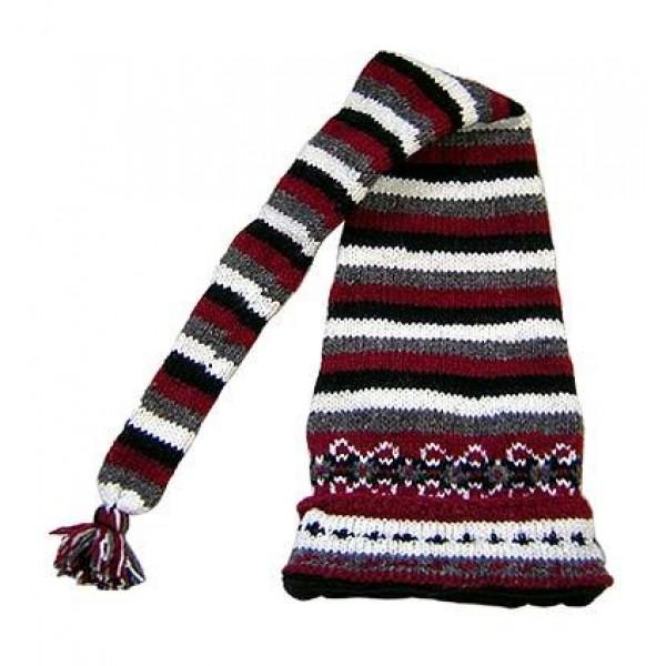 Woolen long hat1