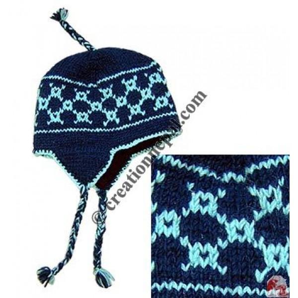 Woolen ear hat1
