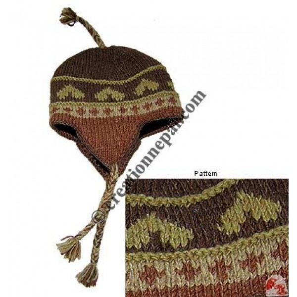 Woolen ear hat4