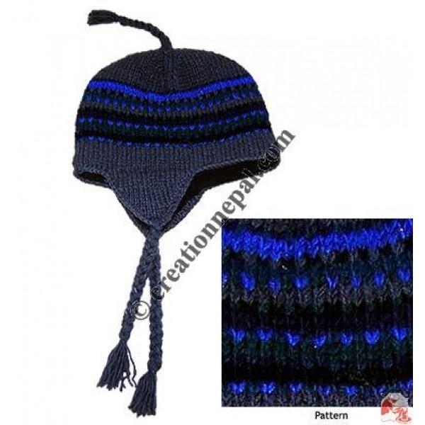 Woolen ear hat6