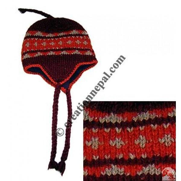 Woolen ear hat7