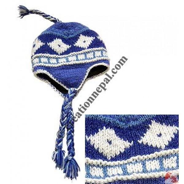 Woolen ear hat14