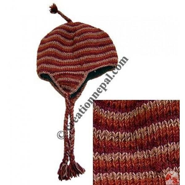 Woolen ear hat16