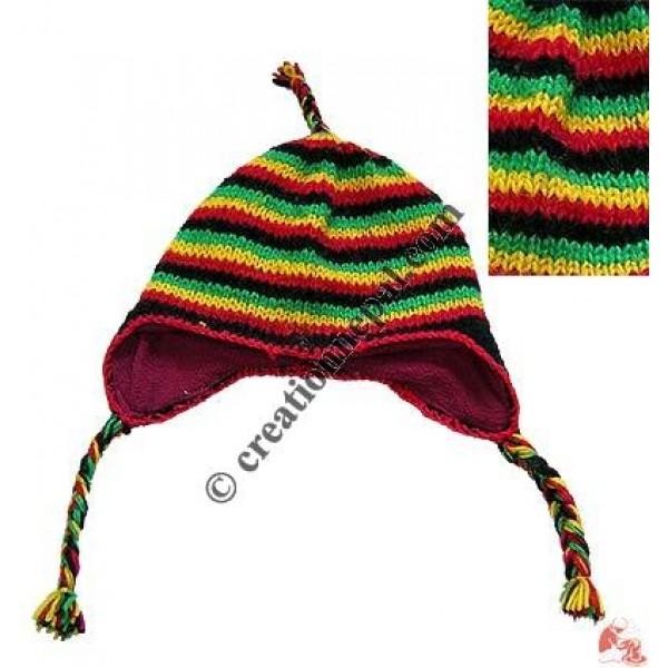 Woolen ear hat17