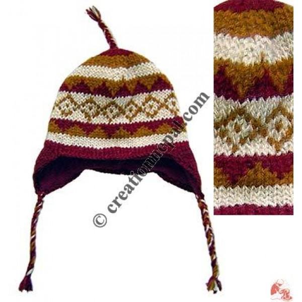 Woolen ear hat20