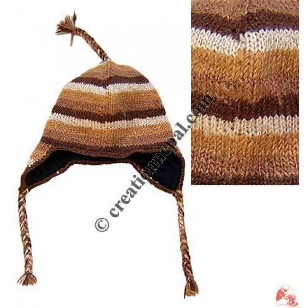 Woolen ear hat60