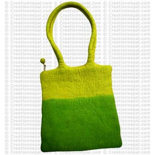 Two step felt bag