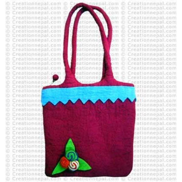 Gamala felt bag