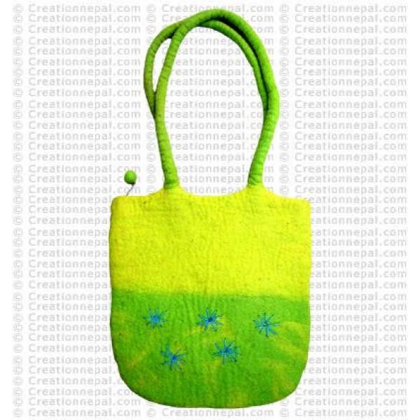 U shape felt bag