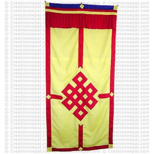 Tibetan Door-curtain3