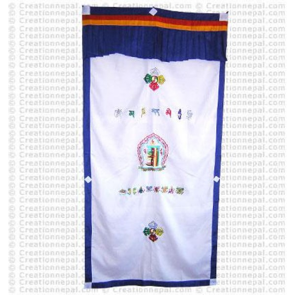Tibetan Door-curtain2
