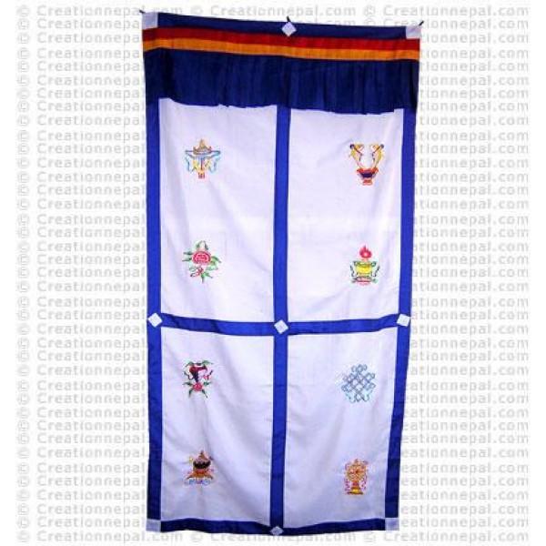 Tibetan Door-curtain4