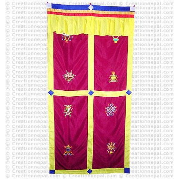 Tibetan Door-curtain6