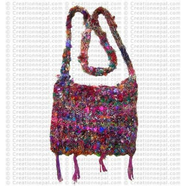 Rustic cotton bag
