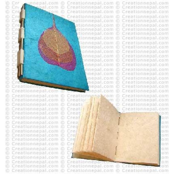 3-Bodhi leaf notebook