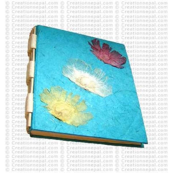 3-flower notebook