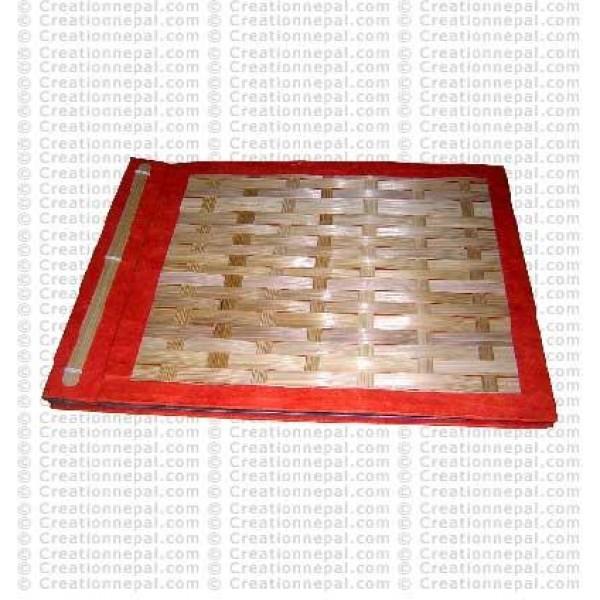 Bamboo mat album