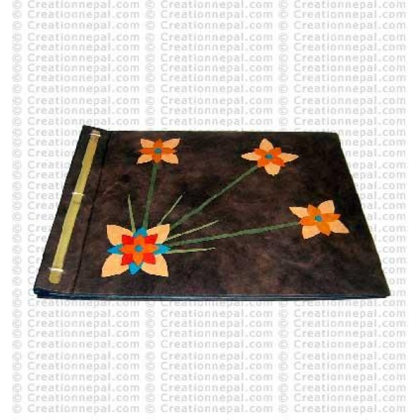 Paper-flower patch album