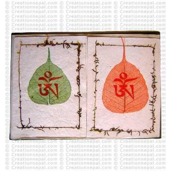 Tibetan Om design cards