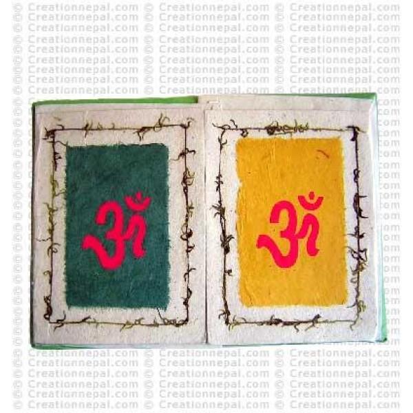 Sanskrit Om design cards