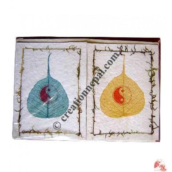 Ying-Yang design cards