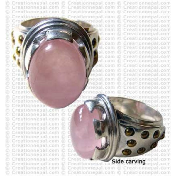 Brass balls finger ring 2