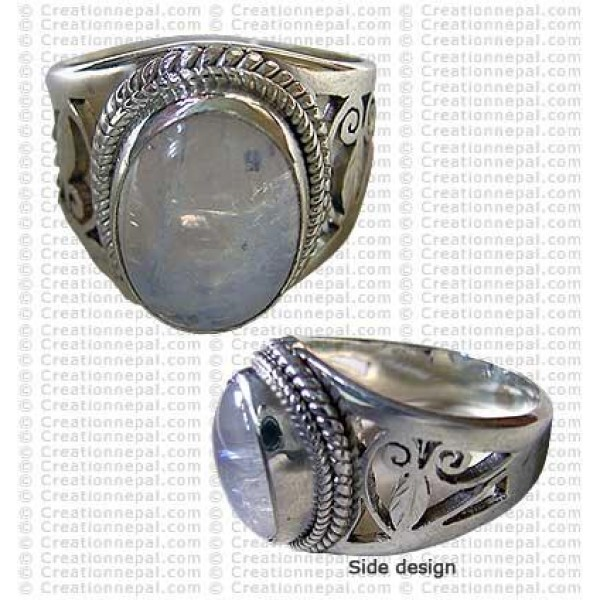 Net design finger ring 3