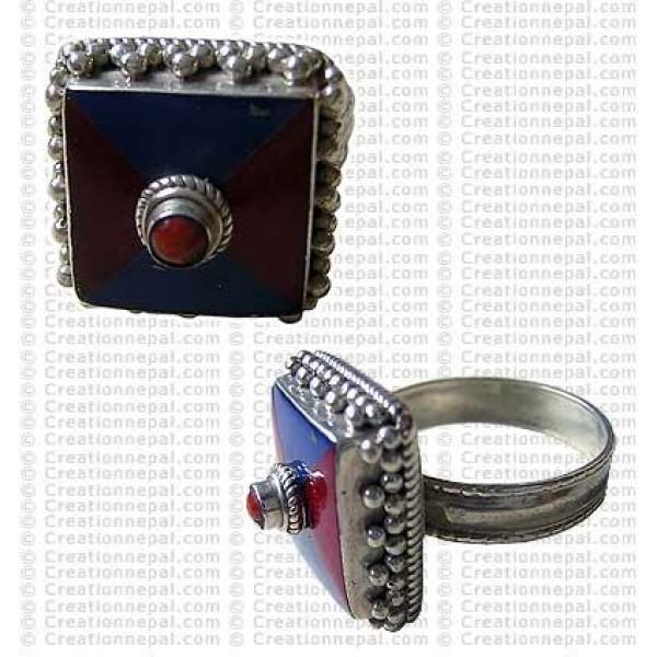 Tibetan design finger ring 1
