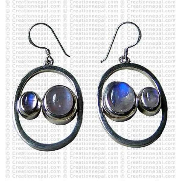 Two stone Earring 2