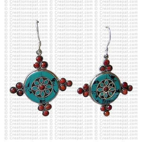 Kalchakra Earring