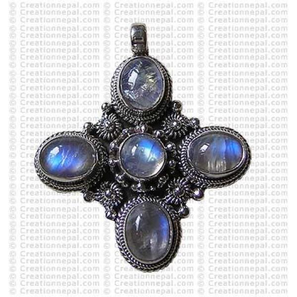 Five stone pendant
