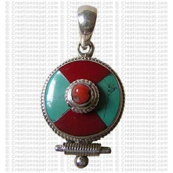 Mini size Tibetan pendant