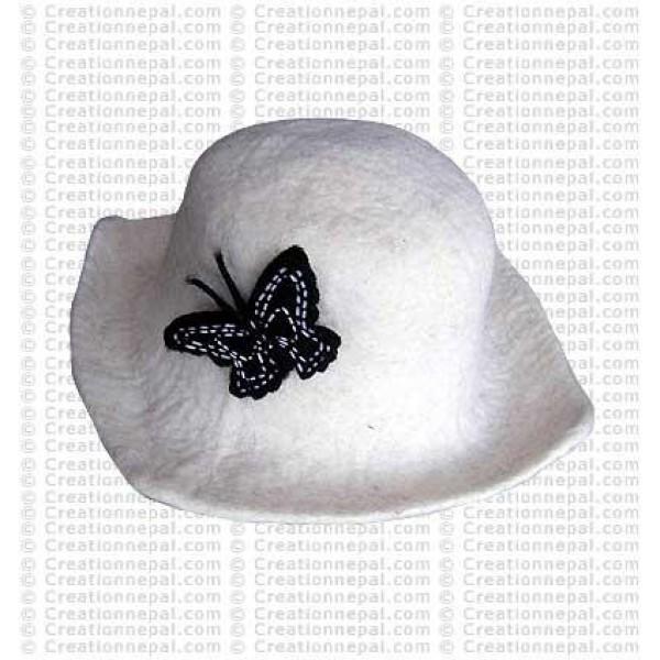 Felt Butterfly hat 2